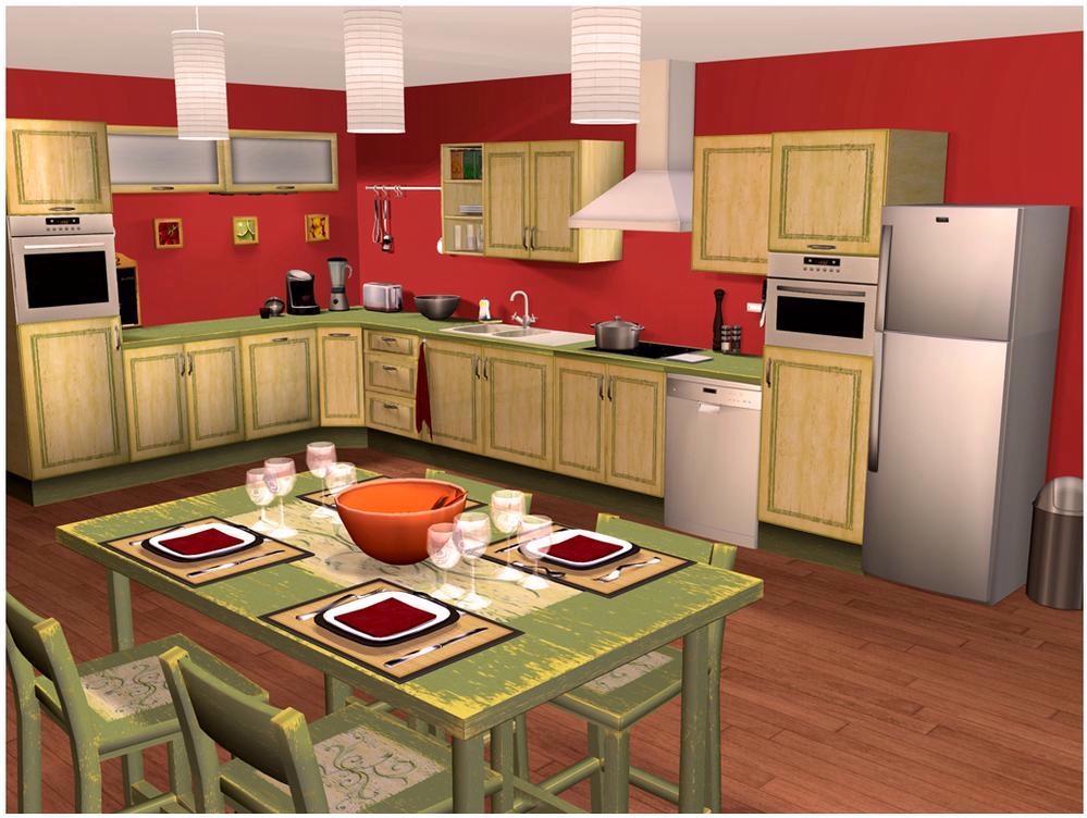 Logiciel cuisine et salle de bains 3d for Logiciel 3d cuisine