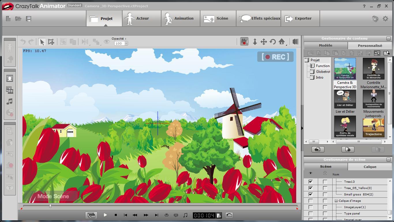 Logiciel professionnel d 39 animation 3d pour cr er des dessins anim s - Logiciel pour creer une piece en 3d ...
