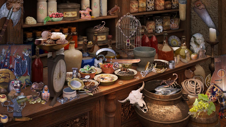 Nigmes objets cach s les borgia for Trouver une cuisine