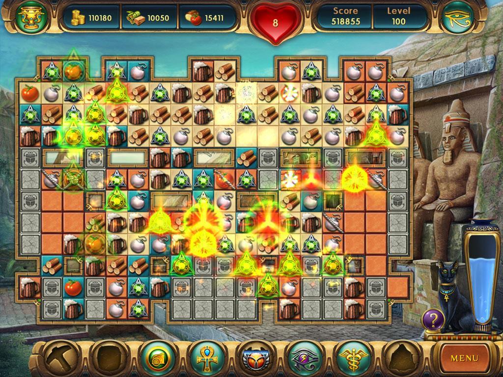 Cradle of Egypt - Free online games Jeux de puzzle d' nigmes T l chargement