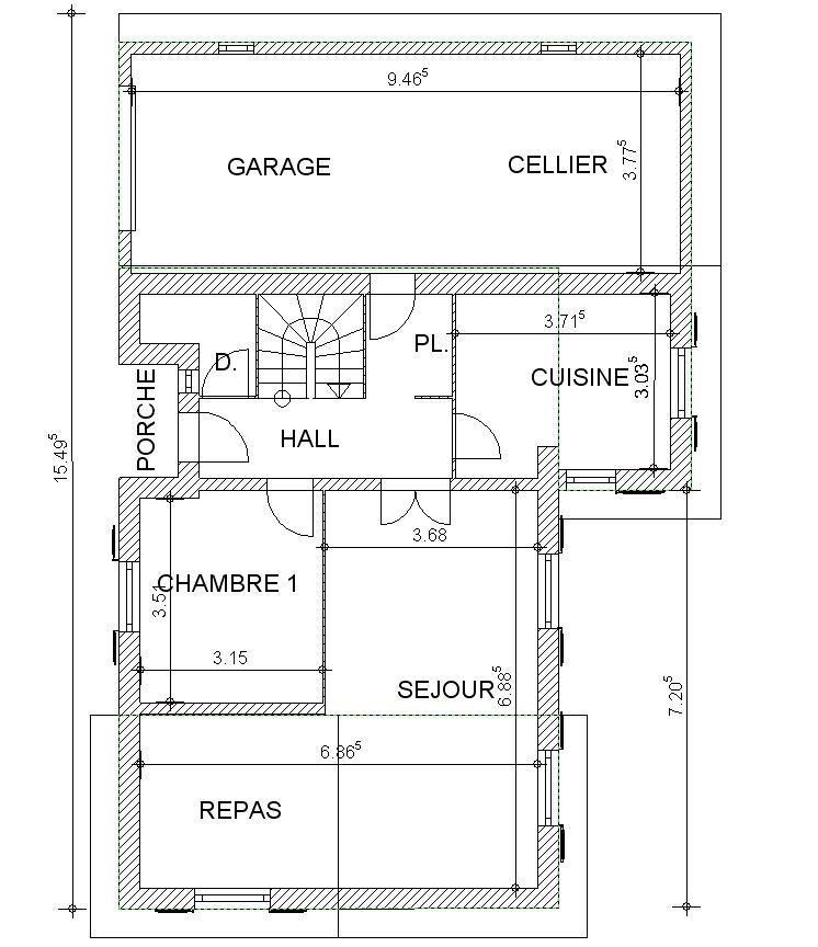 Dessiner Un Plan En D Appartement D With Dessiner Un Plan En D