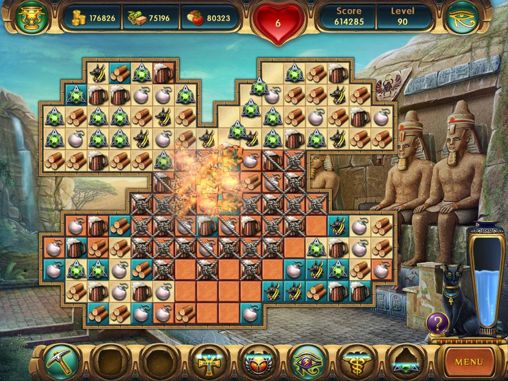 Cradle of egypt collector edition new match 3 game