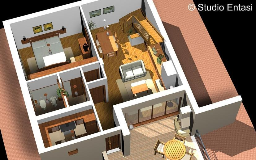 3d architecte facile for Plan de maison 3d gratuit en ligne