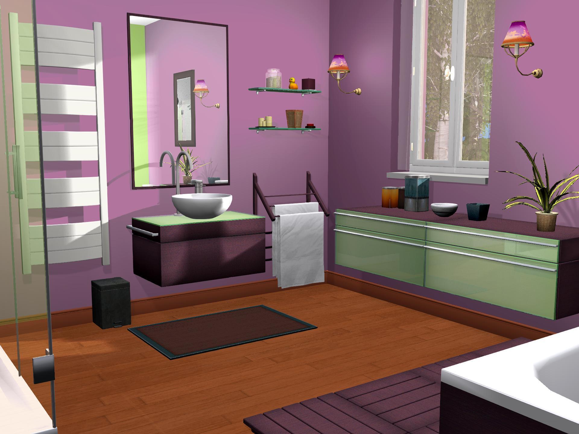 idee deco pour cuisine rouge - Jeux De Decoration De Maison 3d