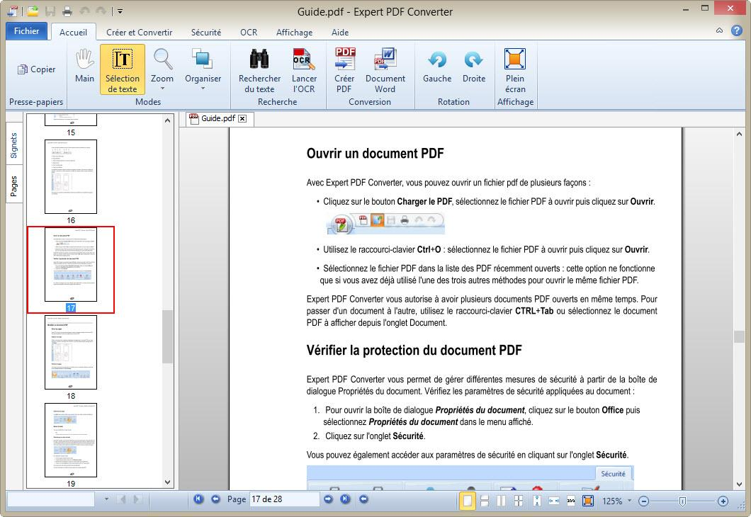 MicroPDF PDF to Word Converter (free version) download for PC