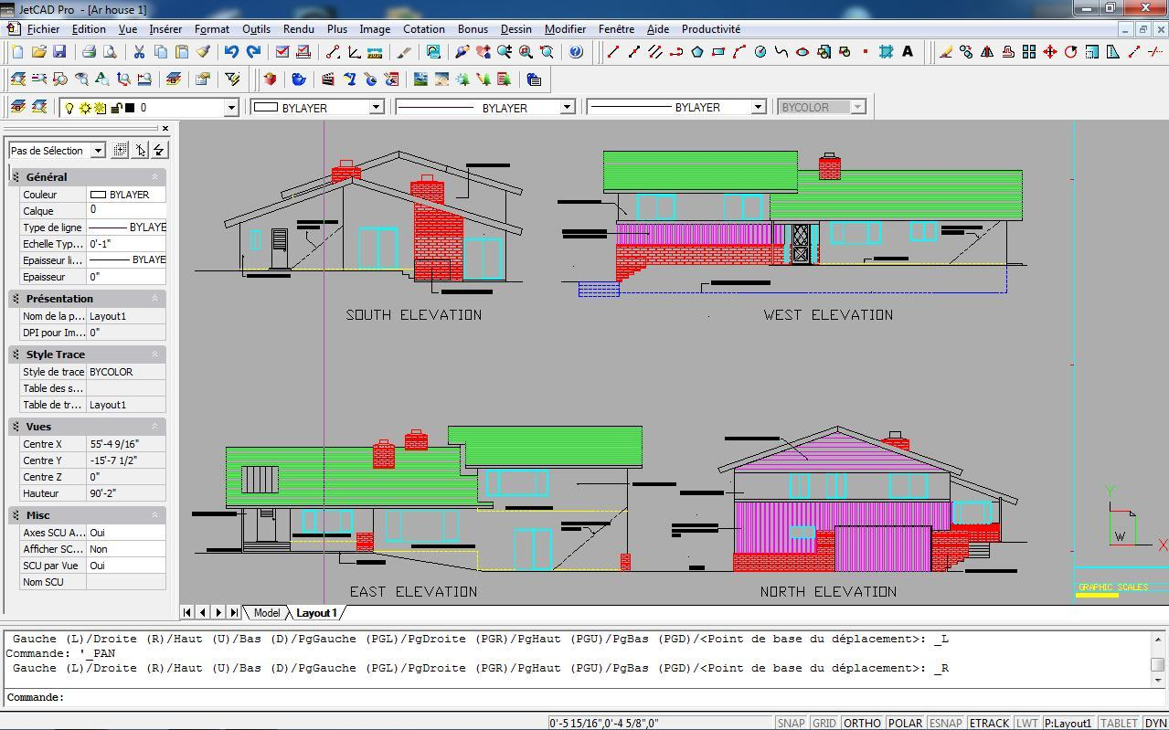 Jetcad pro 2014 for 3d architecte micro application
