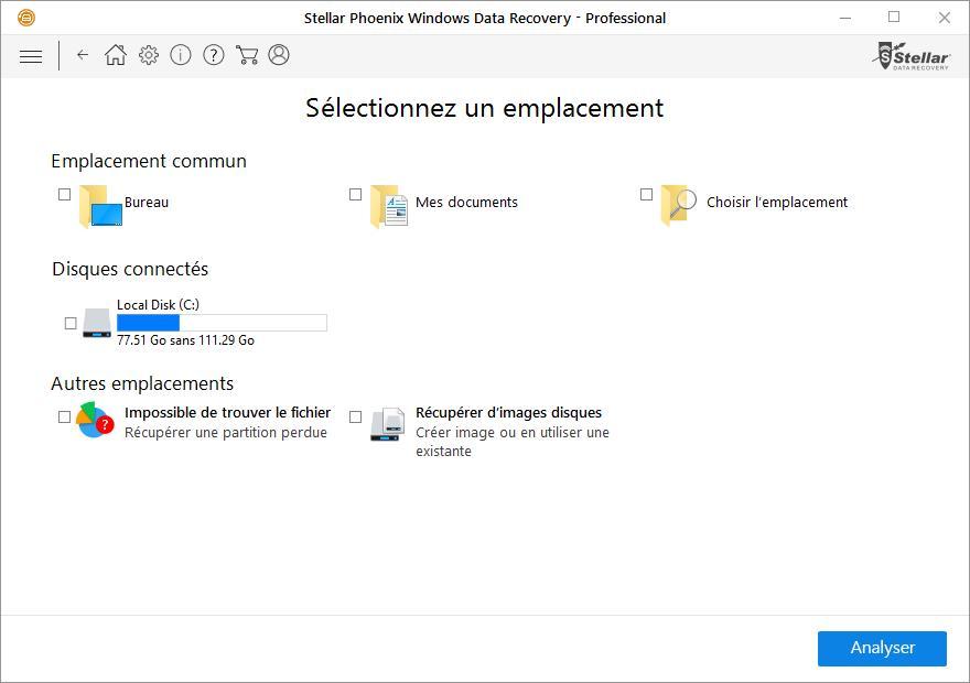 Stellar Phoenix Windows Data Recovery est une application vous permettant de récupérer des données sous environnement Windows. Cette application est une véritable ...