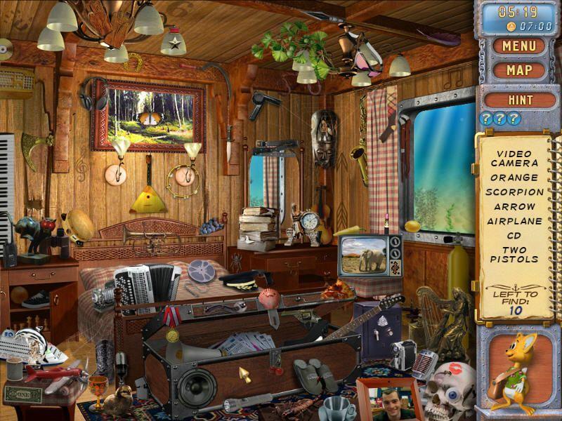 Enigmes objets cach s le triangle des bermudes jeux for Objets domotiques dans une maison