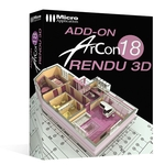 Add-On ArCon 18 Rendu 3D