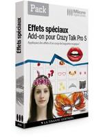 CrazyTalk : Effets spéciaux