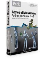 iClone : Gestes et Mouvement