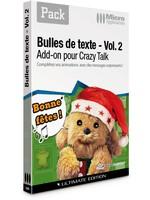 PACK - Bulles de texte - Vol