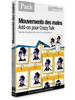 PACK - Mouvements des mains