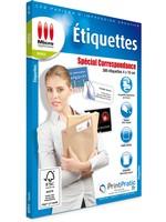 Etiquettes Correspondance